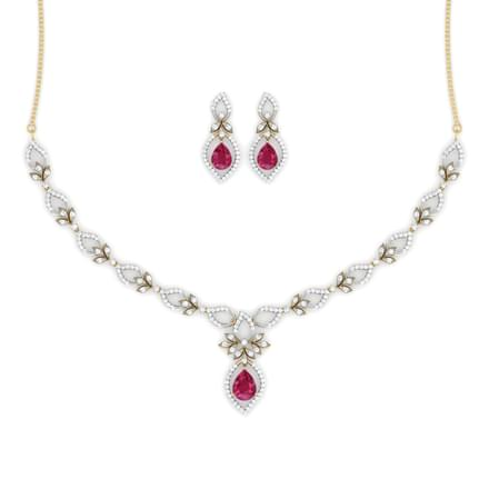 Trifolia Ruby Matching Set