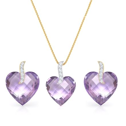 Mila Heart Matching Set