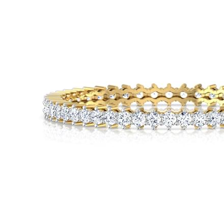 Radiate Solitaire Bangle