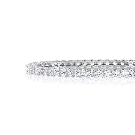 Flare Solitaire Bangle