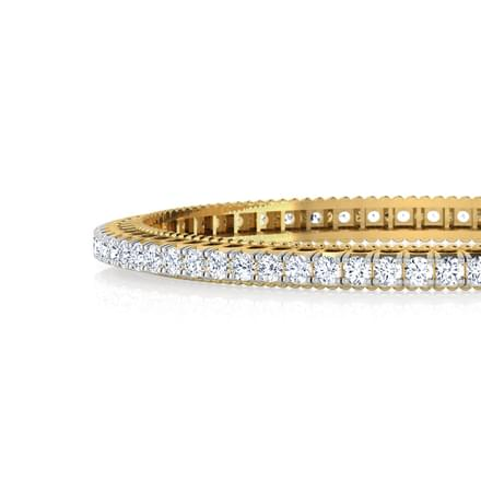 Twinkle Solitaire Bangle