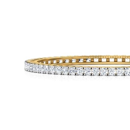 Bedazzle Solitaire Bangle