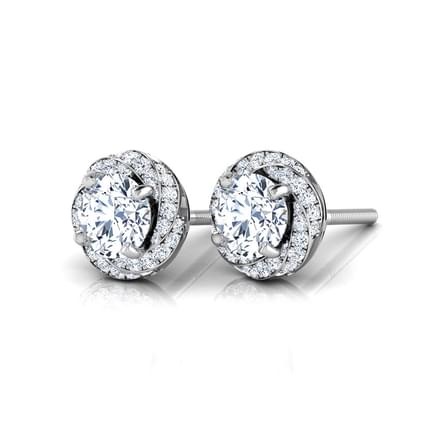 Tana Solitaire Stud Earrings