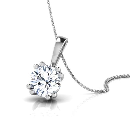 Simple Solitaire Pendant