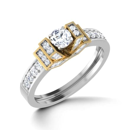 Celestial Solitaire Ring