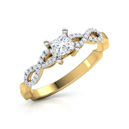 Braided Solitaire Ring