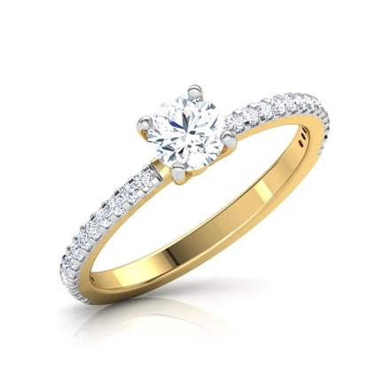 Glee Round Solitaire Ring