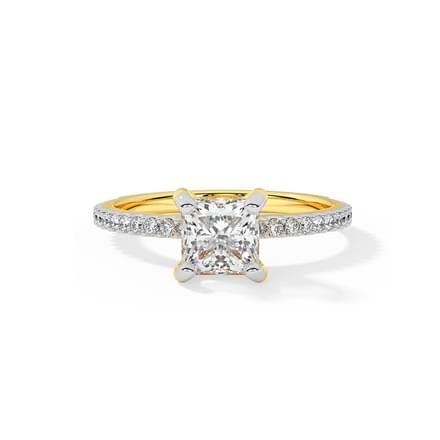 Zest Princess Solitaire Ring
