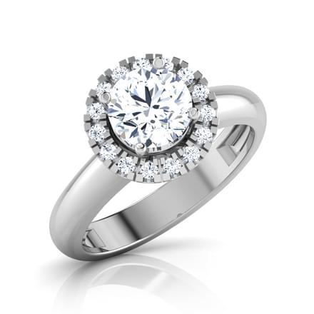 Glaze Solitaire Ring