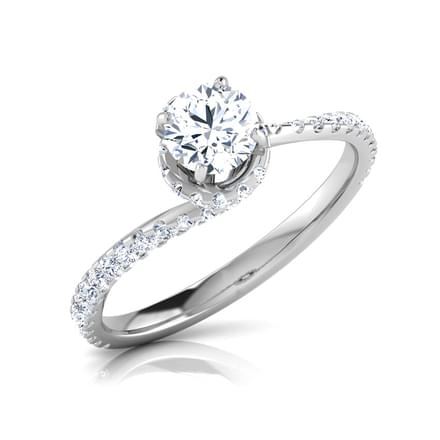 Flair Mighty Solitaire Ring