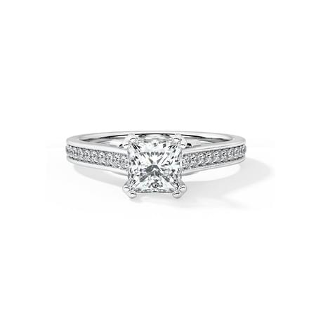 Lily Elegant Solitaire Ring