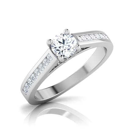 Katie Channel Solitaire Ring