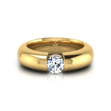 Max Solitaire Ring for Men