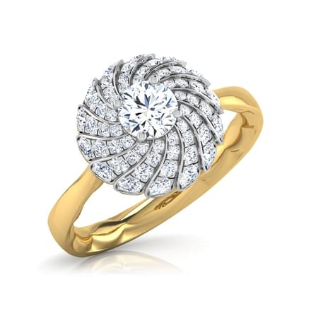 The Taj Ecstasy Solitaire Ring
