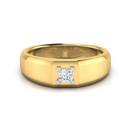 Rily Solitaire Band for Him