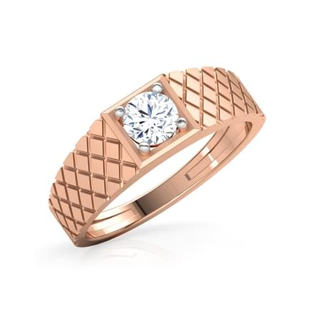 Harry Solitaire Ring for Men