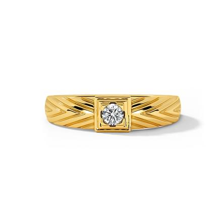 Josh Solitaire Ring for Men