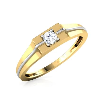 Jerry Solitaire Ring for Men