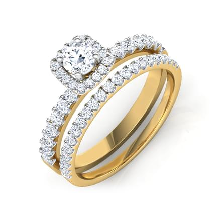 Twinkle Bridal Ring Set