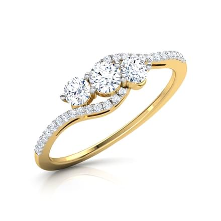 Ariel Arch Solitaire Ring