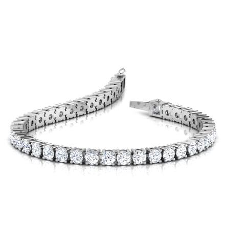 Galaxy Tennis Bracelet Jewellery India line CaratLane
