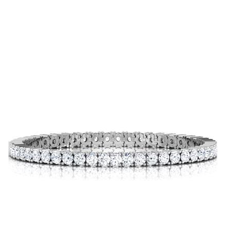 Heavenly Tennis Bracelet Jewellery India line CaratLane