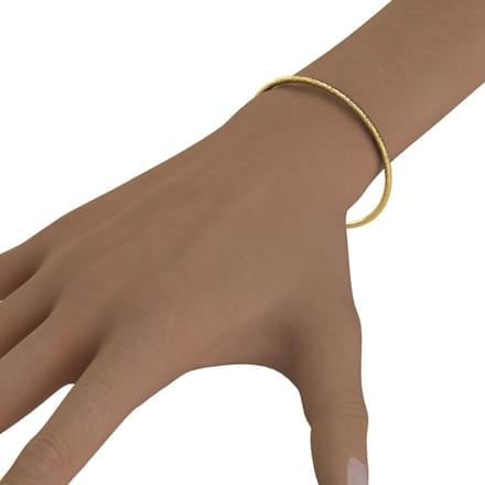 Isabelle Gold Bangle