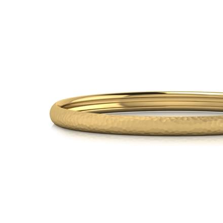 Annabella Hammered Bangle