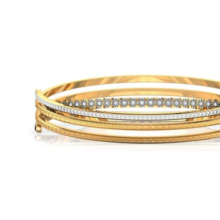 Twine Deco Gold Bangle