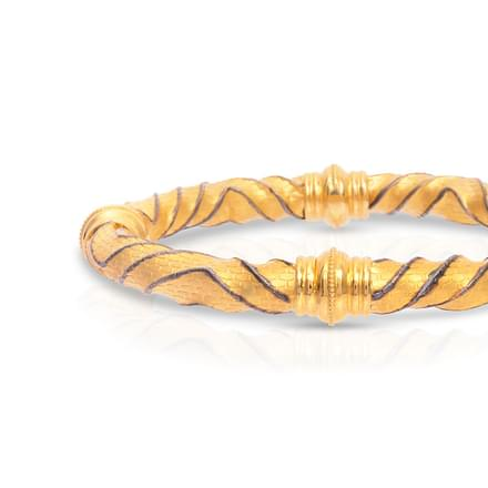 Curvaceous Gold Bangle