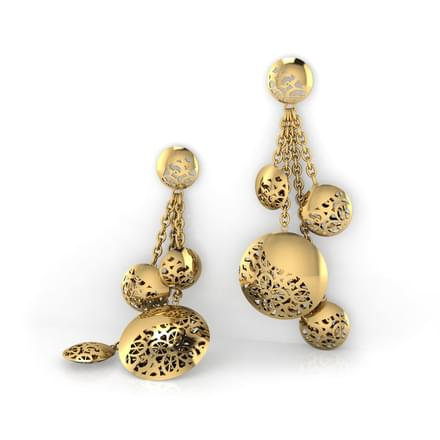 Blaire Bubble Drop Earrings