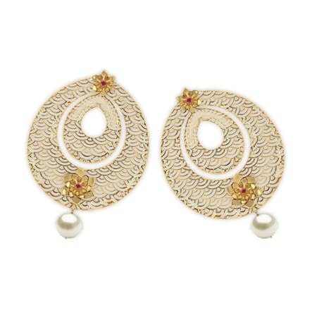 46 Chandbali Earrings Designs Buy Diamond Chandbali Earrings For