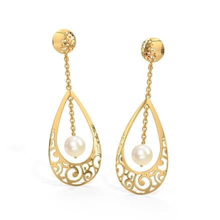 Jayme Cutout Drop Earrings