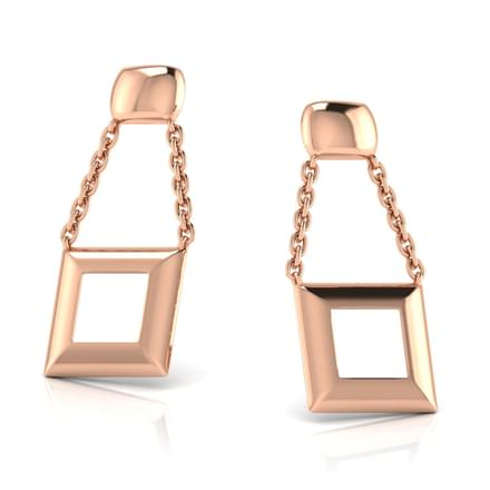 Everly Geometric Drop Earrings