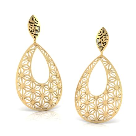 Sienna Cutout Drop Earrings