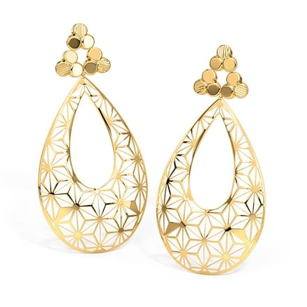 designs jewels oro earrings best for pinterest woman rings jewel new indian images women drop pink image scalloped on gold de jewellery aros and jorgeje fashion