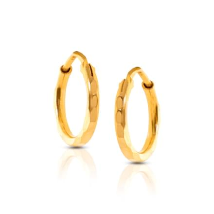 Bella Twisted Hoop Earrings
