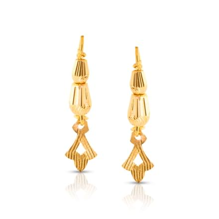 Chime Textured Drop Earrings
