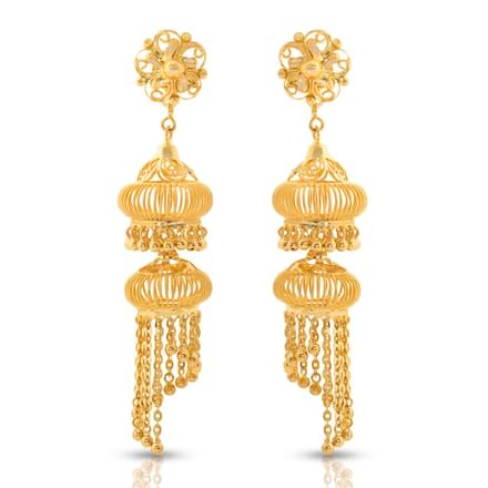 jhumkas view earrings gold proddetail specifications jhumka earring details of