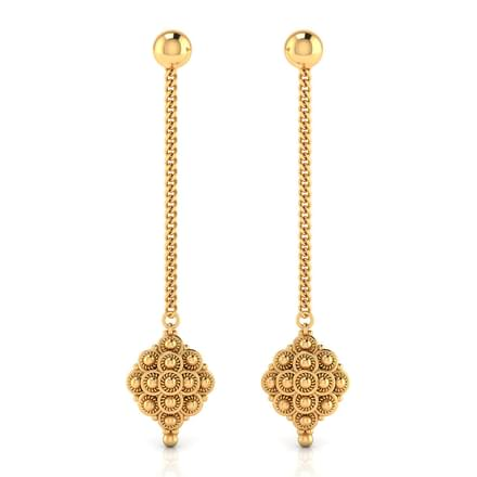 earring on black drop flipkart women gold alloy white q original for best designs online divastri earrings