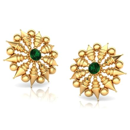 Blazing Sun Stud Earrings