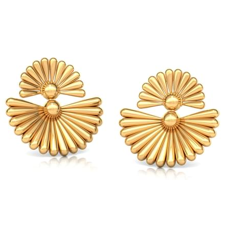 Duo Floral Stud Earrings