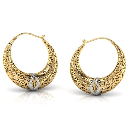 Eva Lattice Chand Bali Jewellery India Online CaratLanecom
