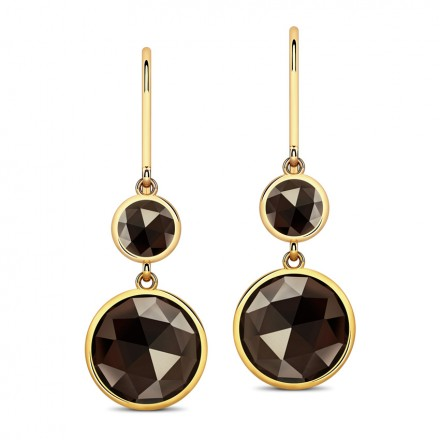 Serie Smoky Drop Earrings