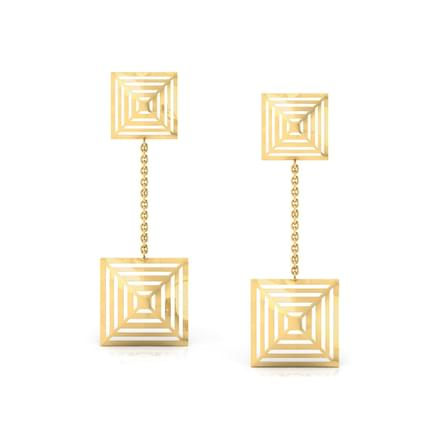 Duo Quad Drop Earrings