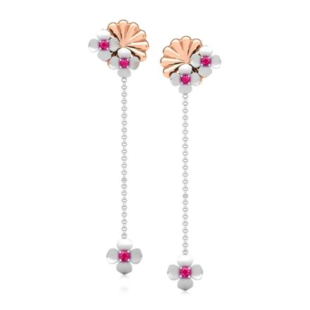 Trisha Floral Drop Earrings