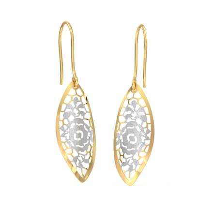 dd758d9a5a3 Floret Cutout Drop Earrings ...
