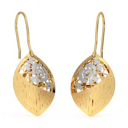 Marquise Cutout Drop Earrings