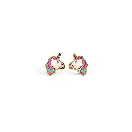 Enchanted Unicorn Stud Earrings