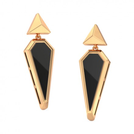 We Onyx Drop Earrings